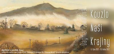 V galerii Detesk otevřeli výstavu Dagmar Loumové
