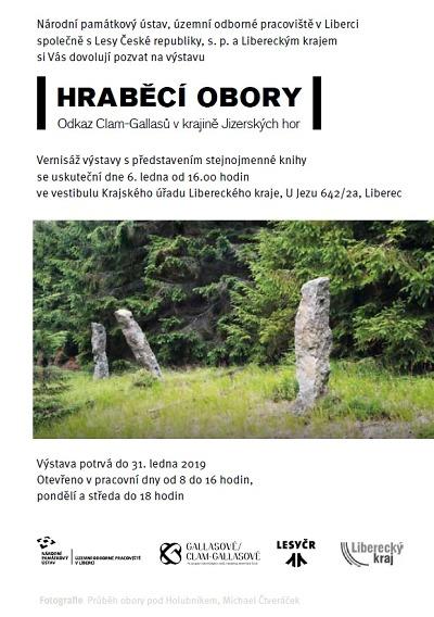 Výstava na kraji představí hraběcí obory v Jizerských horách