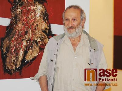 FOTO: Muzejní noc v Semilech zahájili výstavou Ivana Bukovského