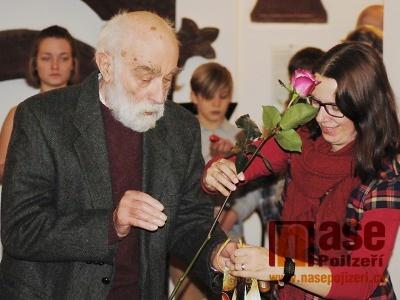 FOTO: V semilském muzeu zahájili výstavu Jiřího Škopka i pokřtili knihu