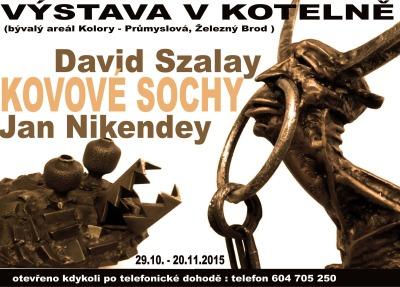 Kovové sochy obsadily prostor Kotelny na Poříči