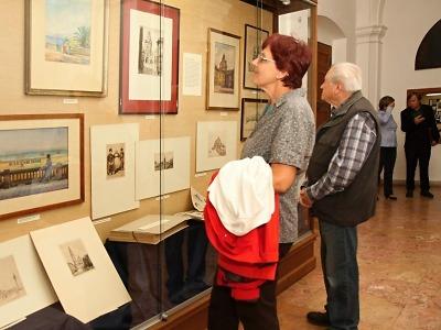 FOTO: V Krkonošském muzeu otevřeli výstavu Jaroslava Skrbka