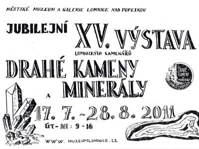 V Lomnici se koná 15. ročník výstavy Drahé kameny a minerály