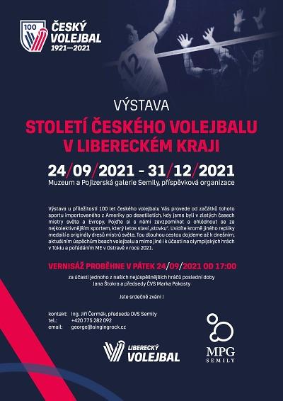 V Semilech zahájí výstavu Století českého volejbalu v Libereckém kraji