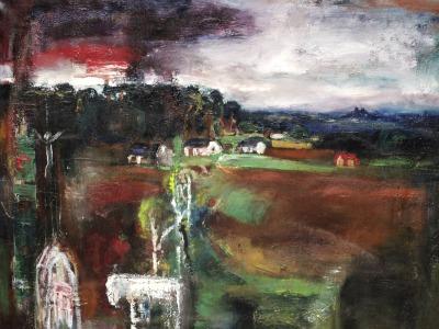 Obrazy z domova a cest Josefa Jíry uvidíte v galerii Detesk