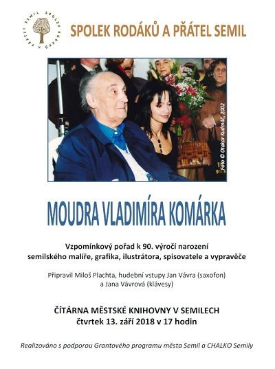 V semilské knihovně budou vzpomínat na Vladimíra Komárka