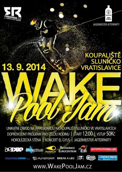 Jedinečný Wake Pool Jam zažije koupaliště ve Vratislavicích