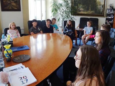 Starosta Turnova přijal delegaci žáků ze Žižkovky