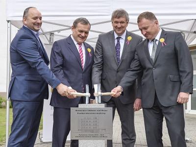 Stavba pavilonu intenzivní medicíny v jablonecké nemocnici začala