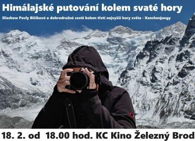 Cestovatelka Pavla Bičíková bude vyprávět o svém Himalájském putování
