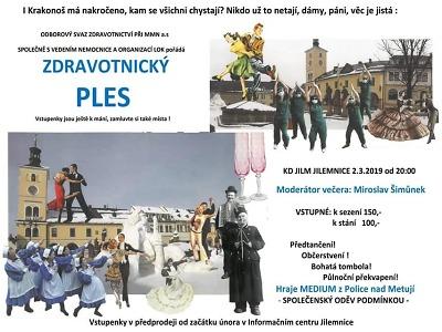 Zdravotnický ples pořádají v Jilemnici