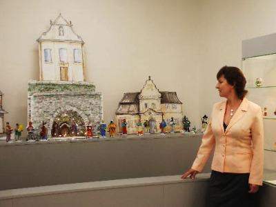 Skleněné betlémy najdete v Železném Brodě v novém minimuzeu