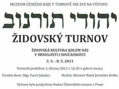 Turnovské muzeum představí návštěvníkům židovskou kulturu