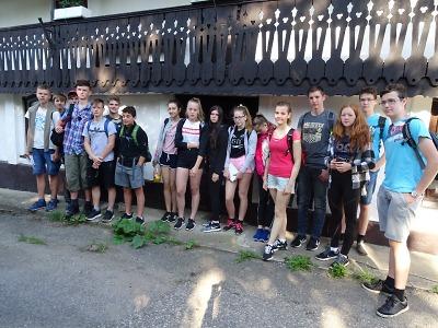 Osmáci ze Žižkovky cestovali za poznáním