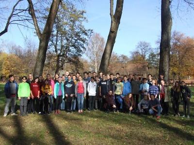 Zahraniční exkurze žáků ze Žižkovky mířila do Osvětimi