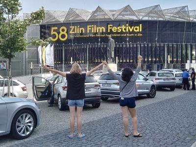 Lomnické středoškolačky zavítaly na 58. Zlín Film Festival