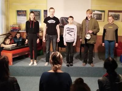 Dramaťáci ze Žižkovky vystoupili na krajském setkání knihovníků