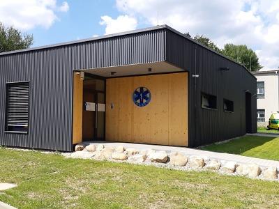 Novou výjezdovou základnu záchranné služby otevřeli v Rokytnici