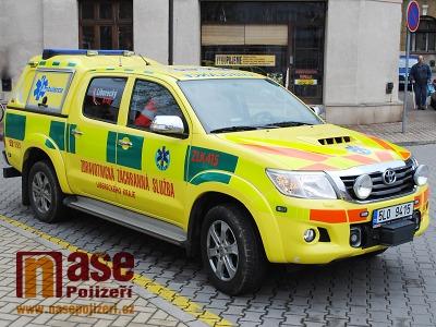 Liberecká záchranka bude mít nové vozy pro systém rendez-vous