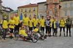 Skupina cyklistů i handibikerů vyrazila k prameni Labe