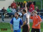 Utkání okresního přeboru Košťálov B (oranžový dres) - Horní Branná B