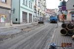 Rekonstrukce Husovy ulice v Semilech