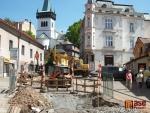 FOTO: Jak probíhala výstavba Čisté Jizery v semilských ulicích