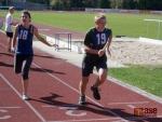 FOTO: Zátopkovy štafety připomínají žákům slavného olympionika