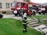 V Jilemnici hořela v domě tlaková bomba a hrozil výbuch