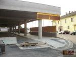 Průběh výstavby terminálu v září 2011