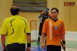 Zápas druhé florbalové ligy TJ Turnov - FbC 98 Chomutov.