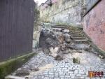 FOTO: Turnovskou ulici U Svěrácké brány stihli opravit ještě před Vánoci