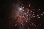 Lidé v Pojizeří bouřlivě oslavovali příchod nového roku