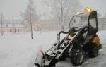Příval sněhu na Jilemnicku a ve Vrchlabí