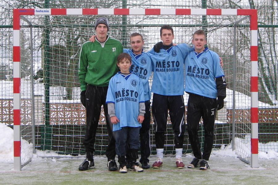 Novoroční turnaj v Tatobitech 2012. Družstvo Jack Daws Semily