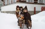 Krasojízdy na rohačkách v Jilemnici