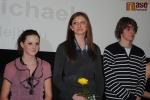 Vyhlášení ankety Sportovec Turnova za rok 2011, zleva Kateřina Čermáková a Michaela Mlejnková