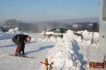 FOTO: Berka dojel i se zvednutou kapotou v Bozkově na druhém místě