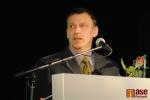 Vyhlášení ankety Sportovec okresu Semily 2011, za Romana Koudelku přebíral cenu jeho otec