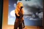 Vyhlášení ankety Sportovec okresu Semily 2011, zpěvačka Monika Agrebi