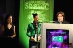 Vyhlášení ankety Sportovec okresu Semily 2011, za družstvo orientačního běhu přebírali cenu Michaela Omová a Martin Baier