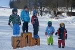Obří slalom na Kozákově proběhl za krásného počasí s účastí 25 dětí