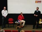 Představení plánu rozvoje města Semily, , pánové Josef Miškovský, Martin Hilpert a starosta Jan Farský
