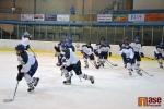 Utkání nadstavby Královéhradecké hokejové ligy juniorů HC Lomnice n. P. - Nové Město n. M.
