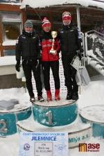 Tři nejlepší ženy z nedělního závodu.