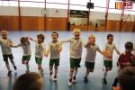 Turnaj mladších přípravek ve Sportovním centru v Semilech, , radost z vítězství hráčů Jablonce