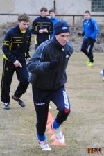 Trénink fotbalistů FK Pěnčín-Turnov