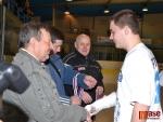 Junioři HC Lomnice nad Popelkou přebírají stříbrné medaile
