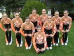 Juniorky na šampionátu kvůli pádu až páté, mladší družstvo ale veze bronz