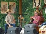 Westernový den v Semilech 2012. Jimmy Bozeman a jeho česká doprovodná kapela the Lazy Pigs